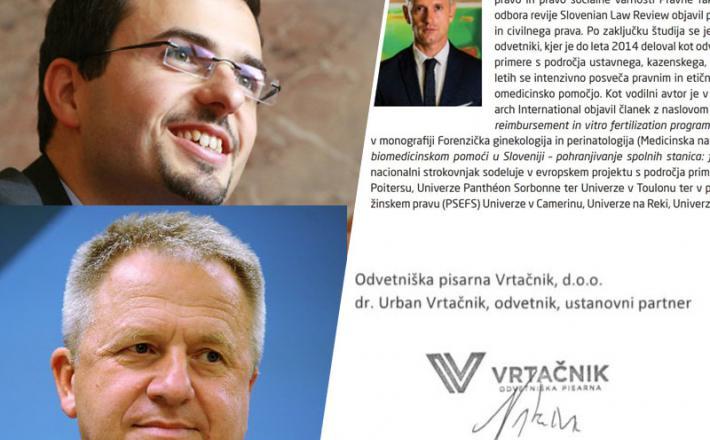 Tonin,Počivalšek iVrtačnik in njegova ugodna pravna mnenja