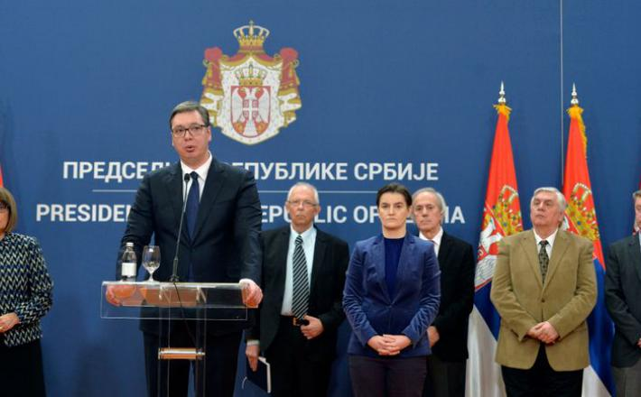 Predsednik Srbije in vlada Srbije