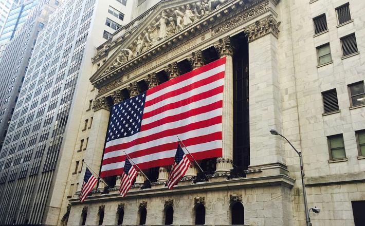 Wall Street, borza, New York Stock Exchange, New York