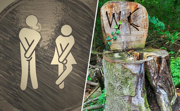 WC. iztrebki