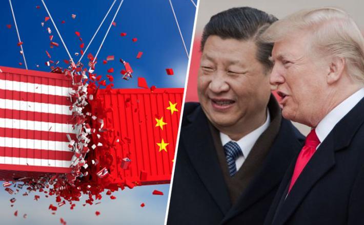 Xi, Trump in kontejnerji