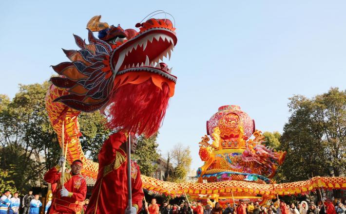Kitajska - priprave na novo leto    Vir:Xinhua