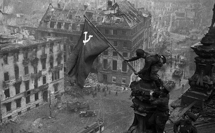 Zastava nad Reichstagom