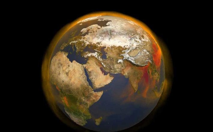 Klimatske spremembe so že premaknile - rotacijsko os našega planeta