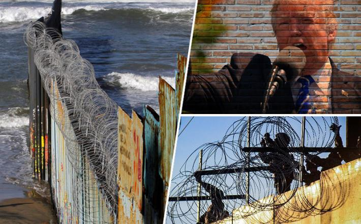 Žica, meja ZDA, Mehika