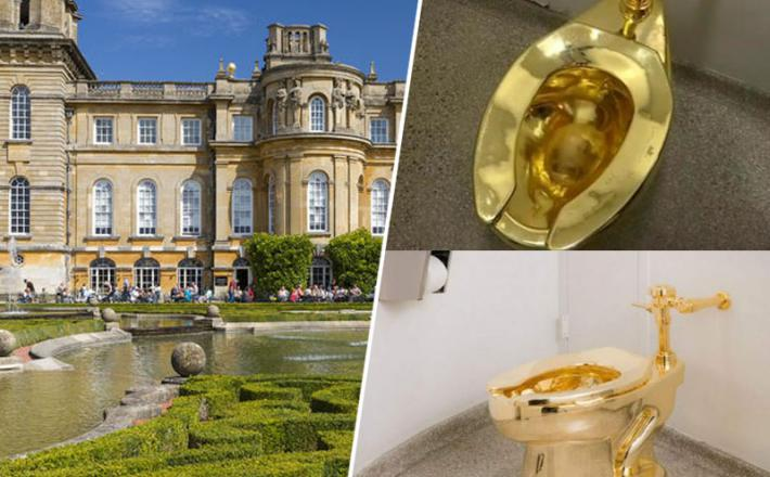 Zlata školjka - palača Blenheim