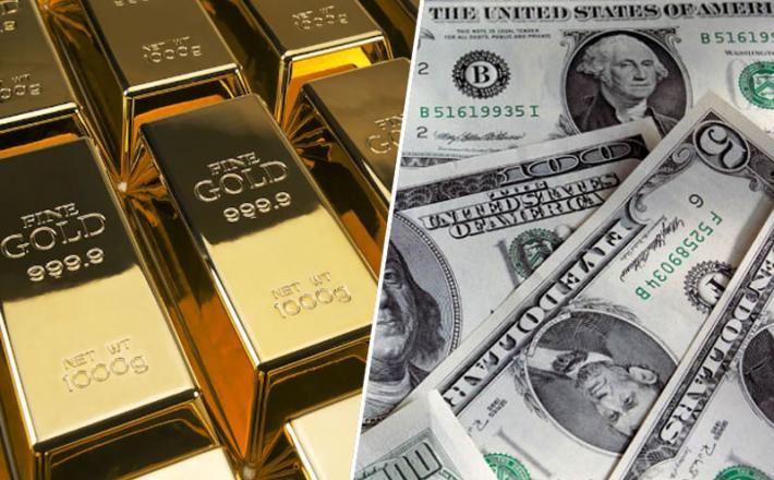 Zlato, dolar