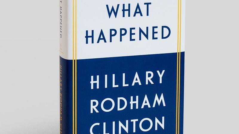 Trump izid knjige Hillary Clinton pospremil s  - tvitom, seveda
