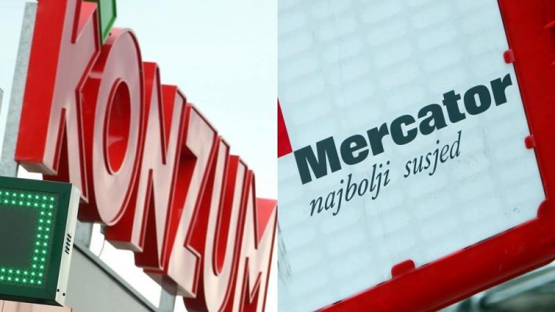 Mercator od Konzuma v BiH prevzel prvih 25 prodajaln