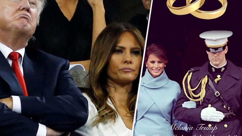Melania in Donald Trump, 13 let poroke