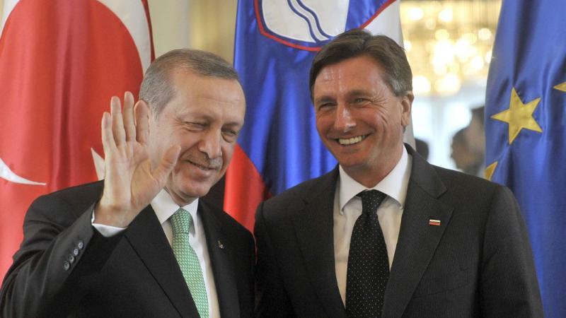 Pahor in Erdogan