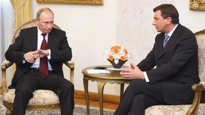 Vladimir Putin in Borut Pahor