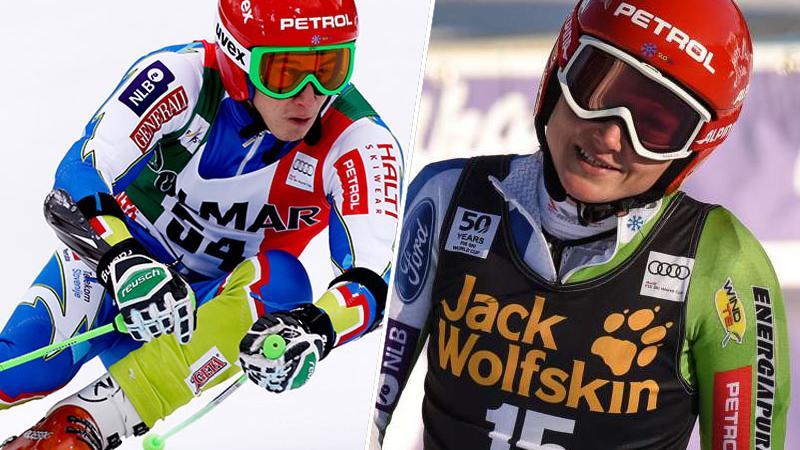 Žan Kranjec in Ana Drev