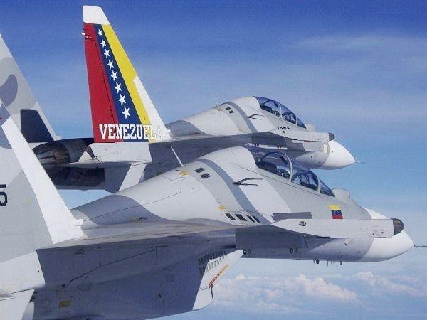 Venezuela - lovci Su-39 Vir:Pininterest