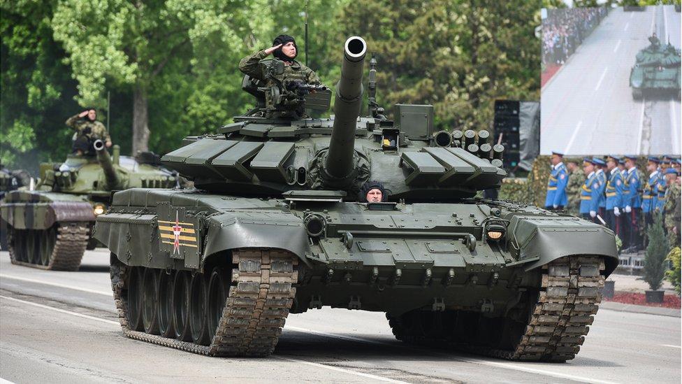 Ruski tank T-72 MS, v sestavi Vojske Srbije Vir:YouTube