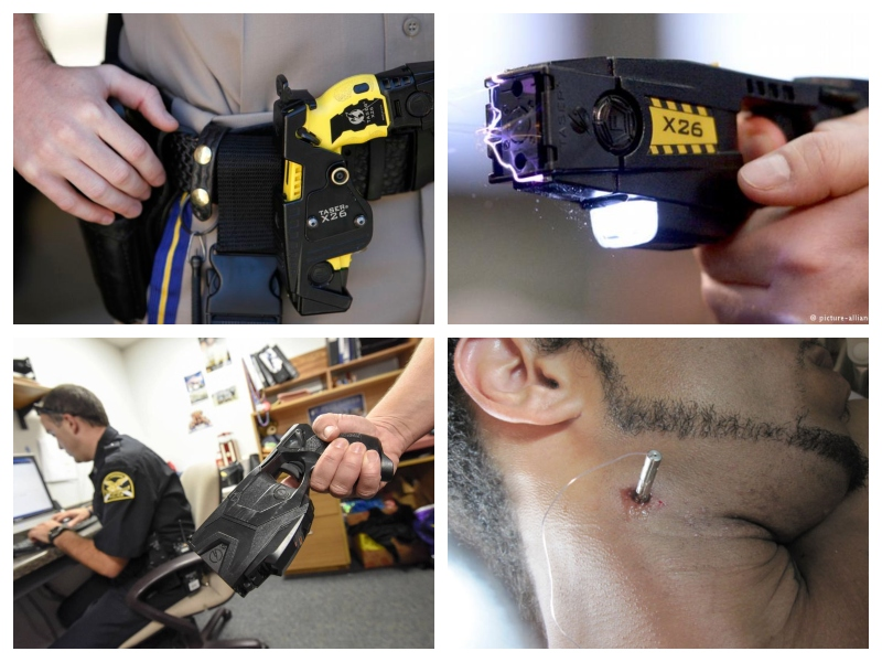 Policija - paralizatorji