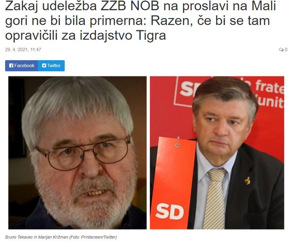 Nova24TV - članek o tigrovcih