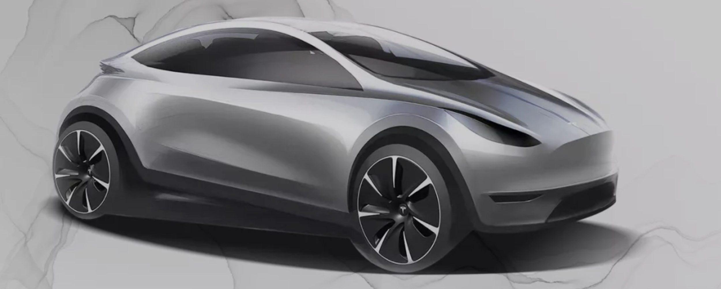 Tesla model 2 - koncept
