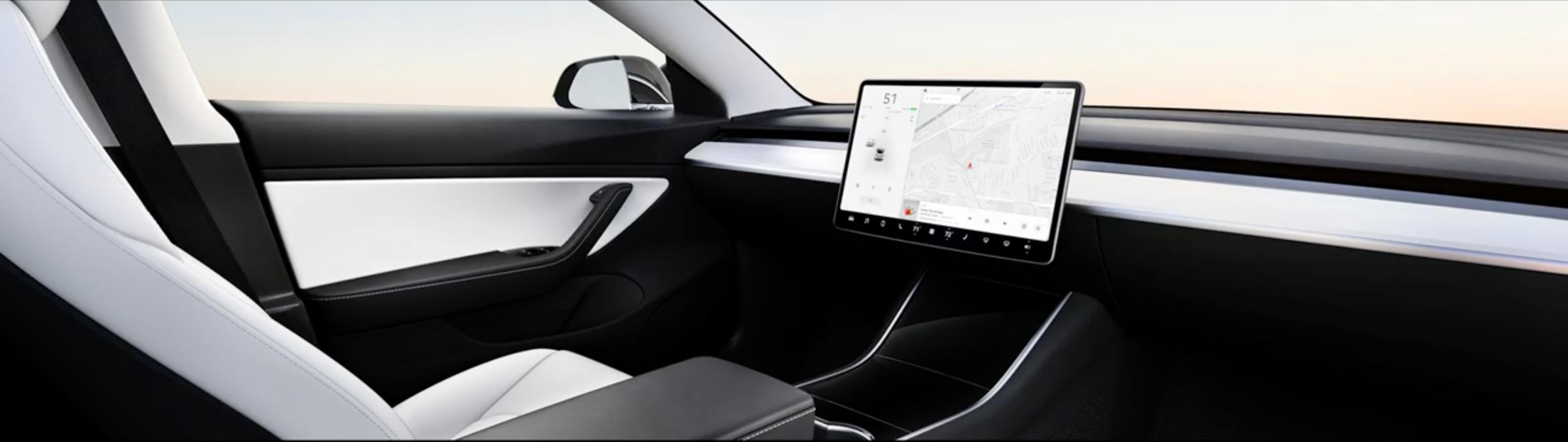 Samovozeči avto Tesle - koncept