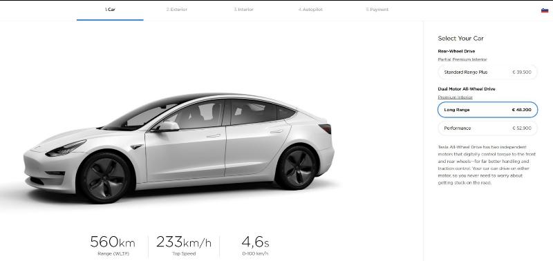 Tesla model 3 za Slovenijo