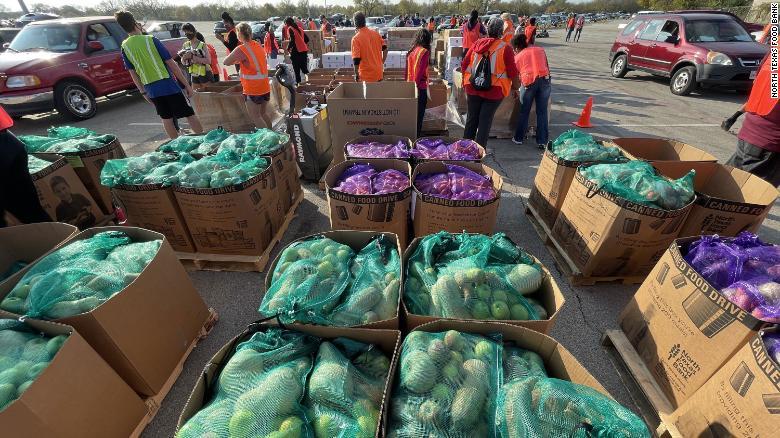 Banka hrane v Teksasu Vir:Twitter