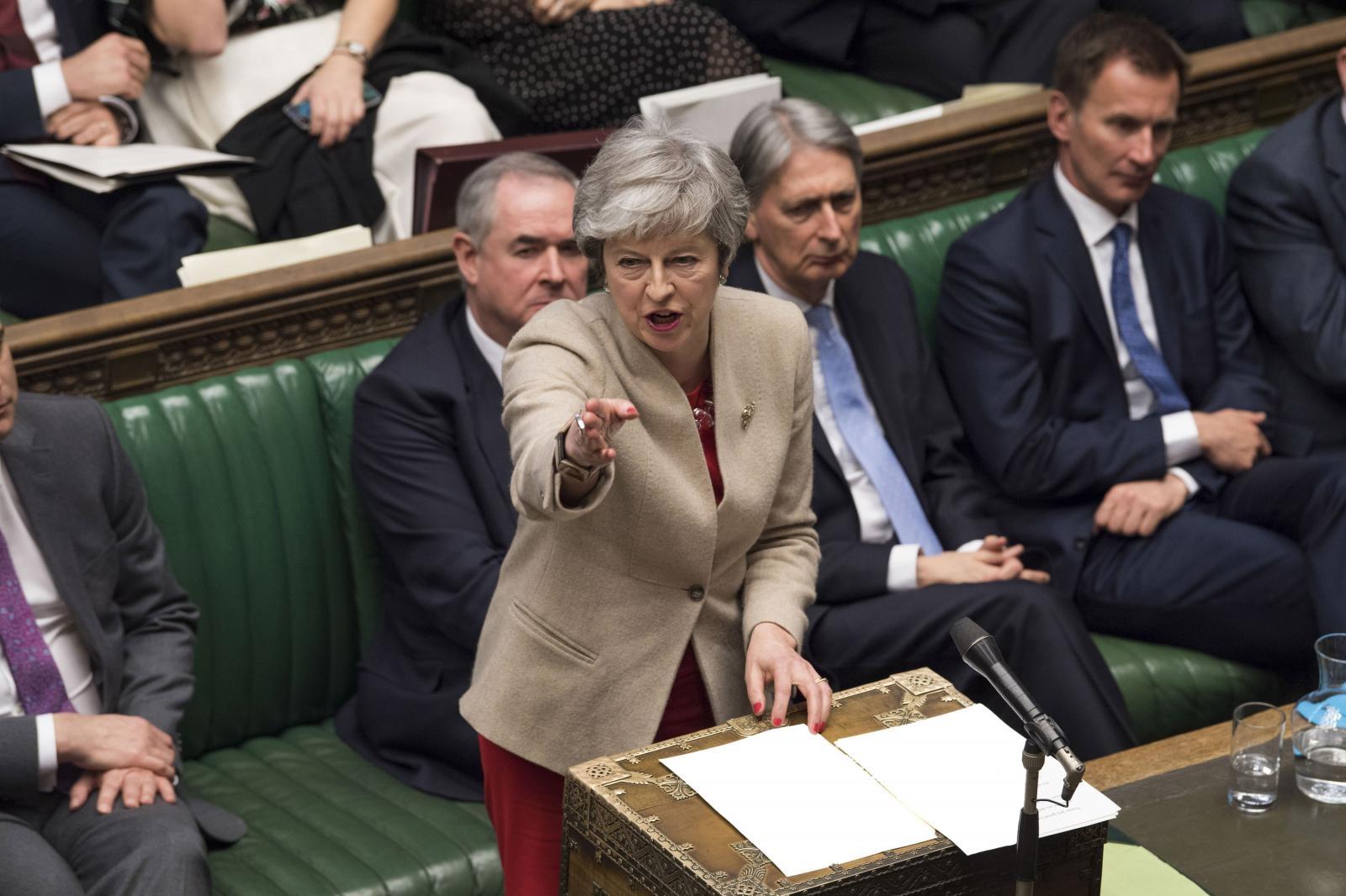 Theresa May Vir:Pixell