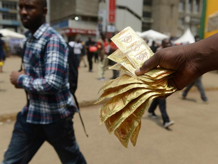 Prodaja kondomov, Kenija Vir:The Star