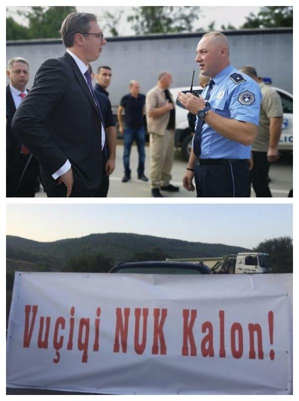Blokade Kosova - kosovski Albanci, september 2018