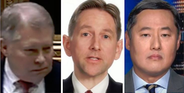 J. Michael Luttig, Greg Jacob, John Yoo
