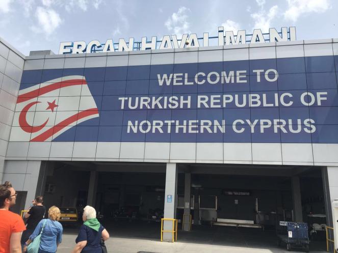 Letališče Turške republike Severni Ciper  Vir: FB