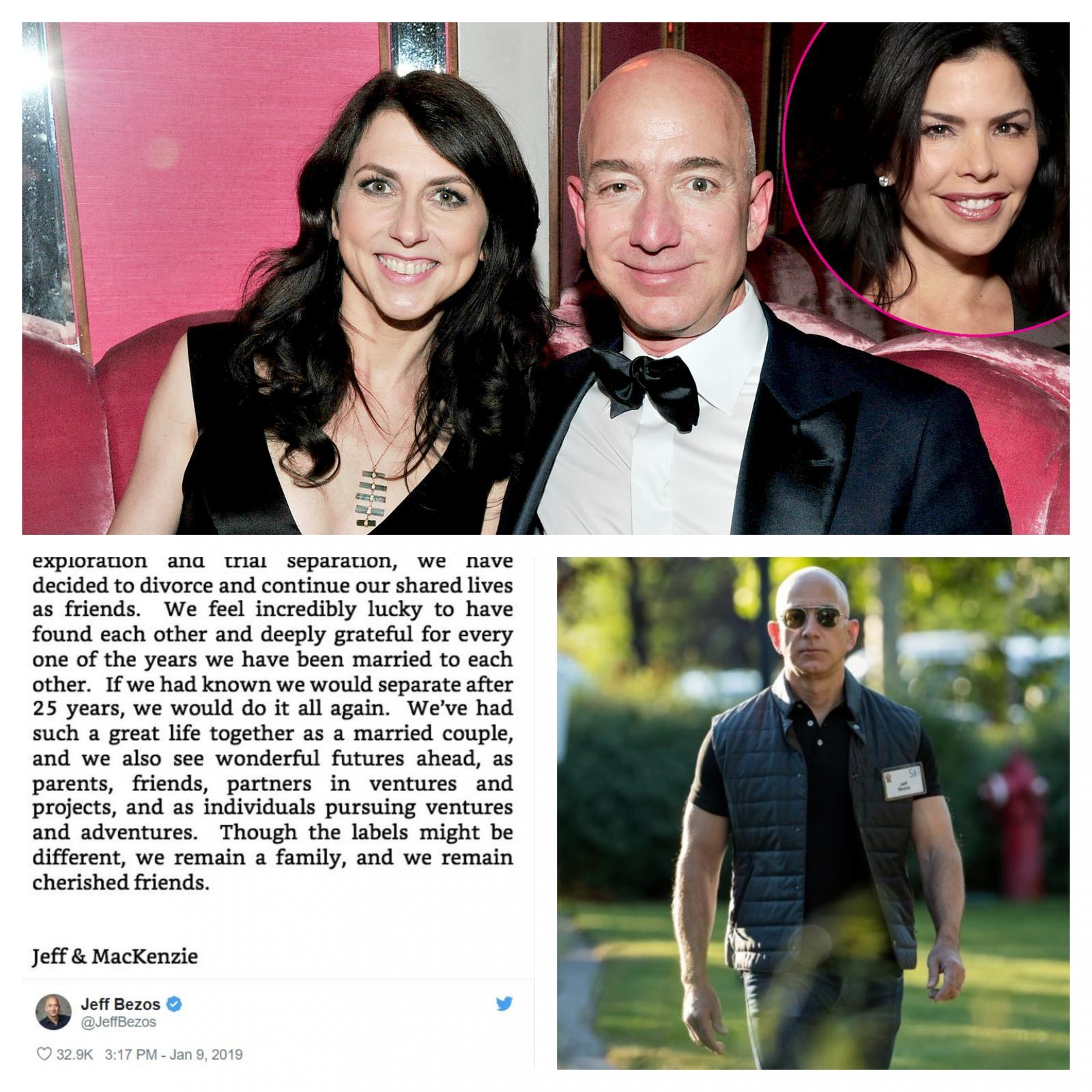 Jeff Bezos in ljubica
