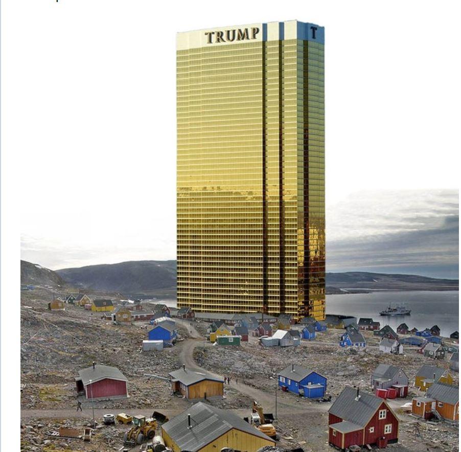 Trumpov stolp - Grenlandija