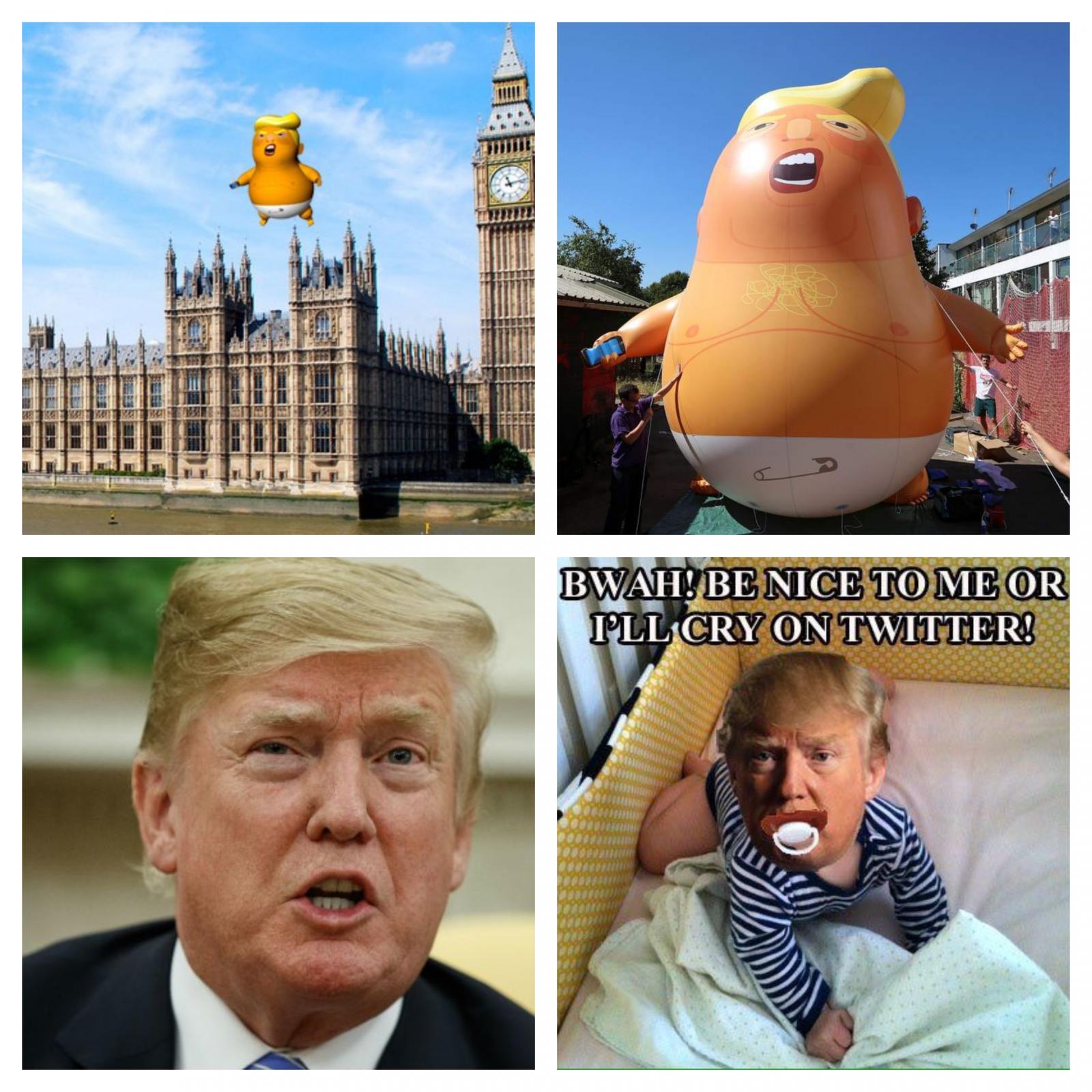 Trump - dojenček