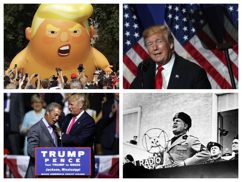 Obisk Donalda Trumpa v Veliki Britaniji - junij 2019