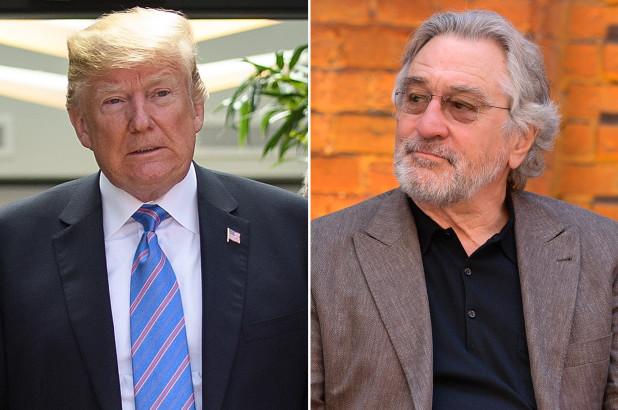 Robert de Niro in Donald Trump