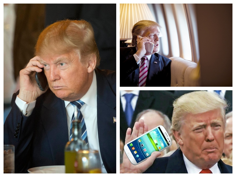 Trump in telefoni
