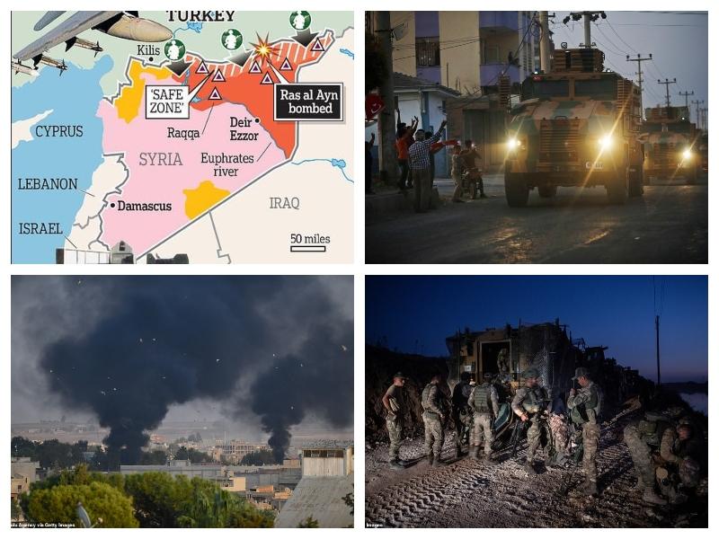 Turčija -invazija, severna Sirija