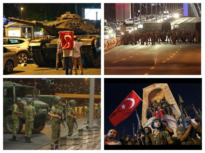 Državni udar - Turčija 2016