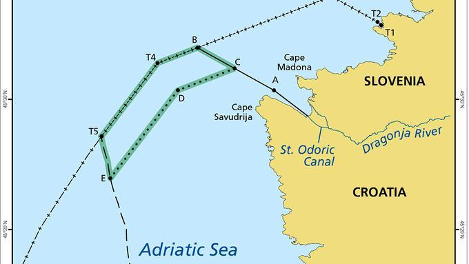 Arbitražno sodišče, meja Slovenije in Hrvaške na morju