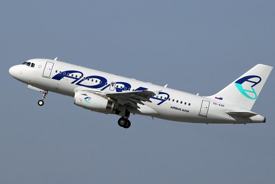 Letalo Adria Airways