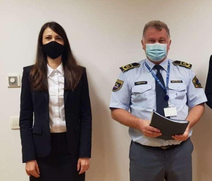 Grah-Lazarjeva in direktor policije Jurič Vir:NPU