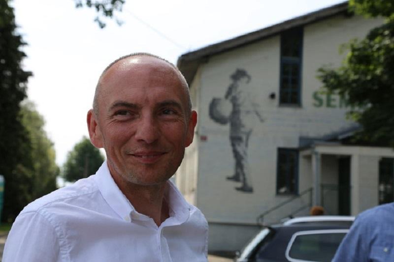 Minister za zdravje Aleš Šabeder, foto: Skledar TV