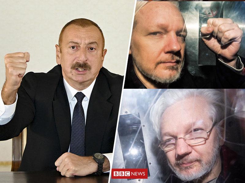 Alijev in Assange