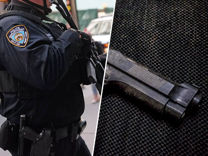 Ameriška policija, pištola