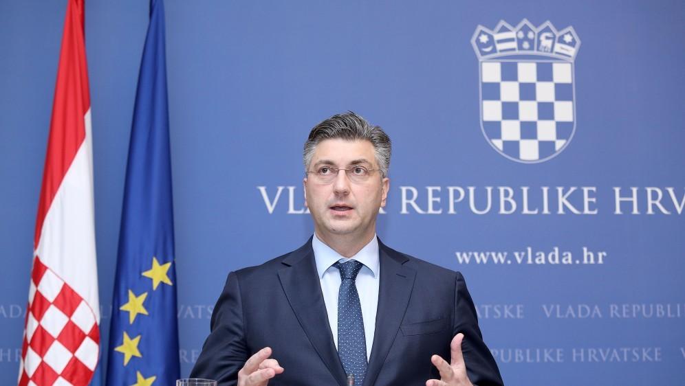 Predsednik hrvaške vlade Andrej Plenković