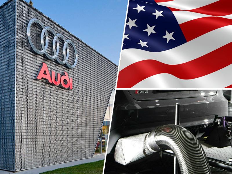 Audi, ZDA, kazen