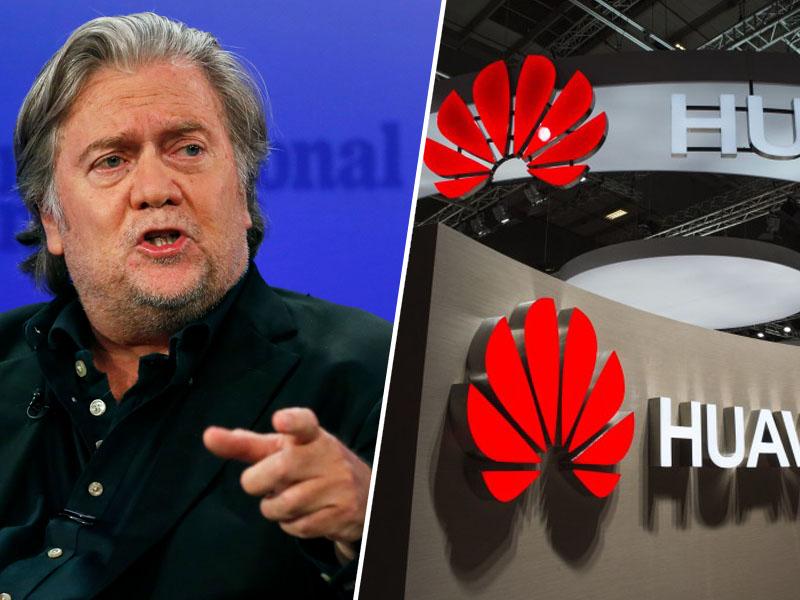 Bannon in Huawei