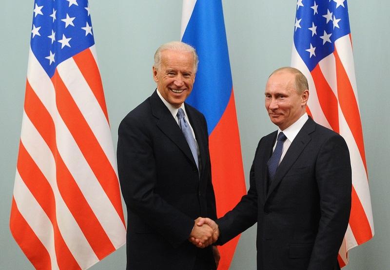 Biden in Putin  Vir:Twitter
