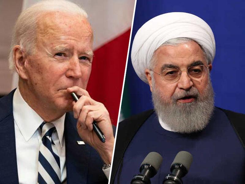 Joe Biden in Hasan Rouhani  Vir: Twitter