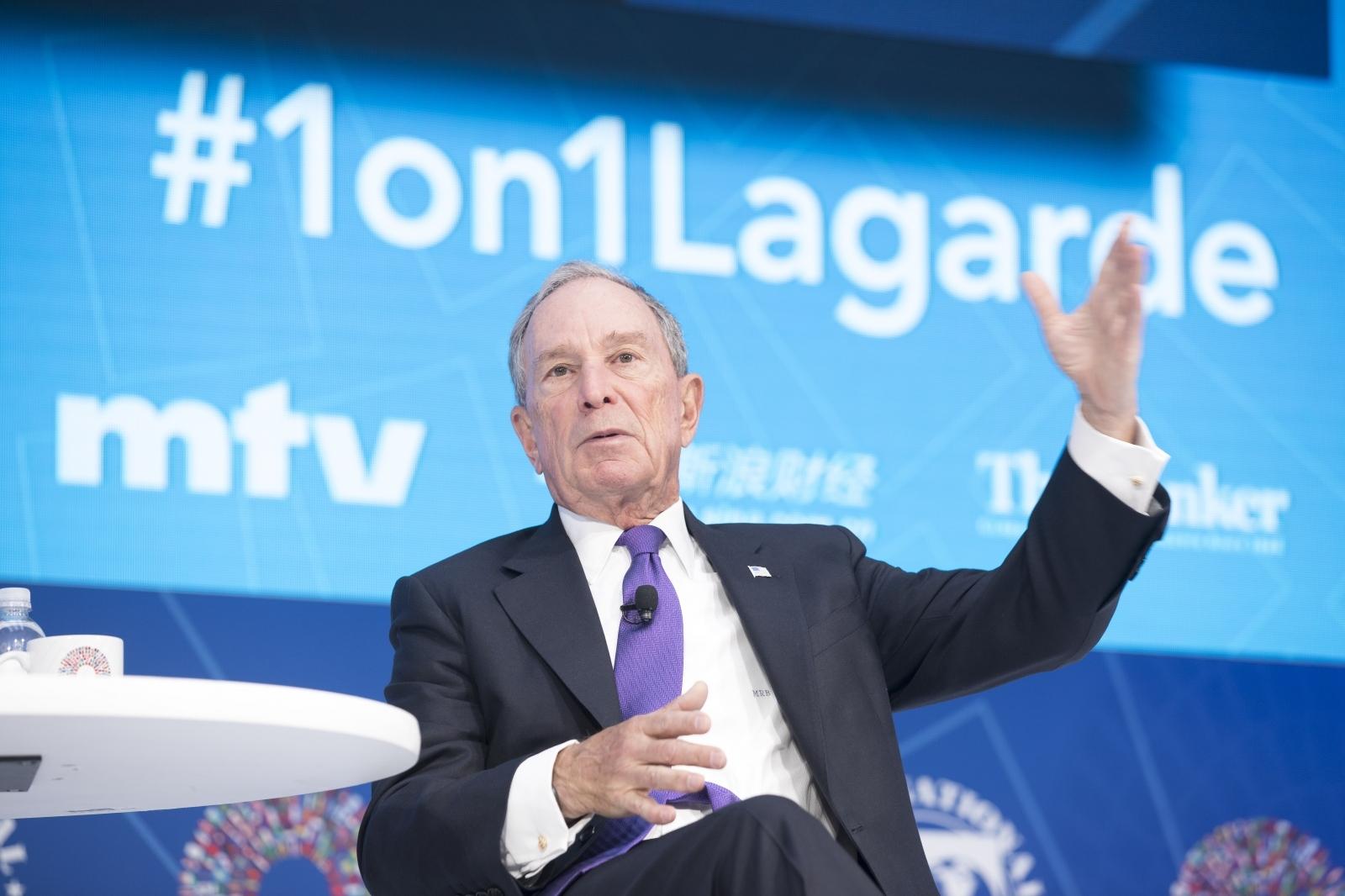Michael Bloomberg Vir:Pixell